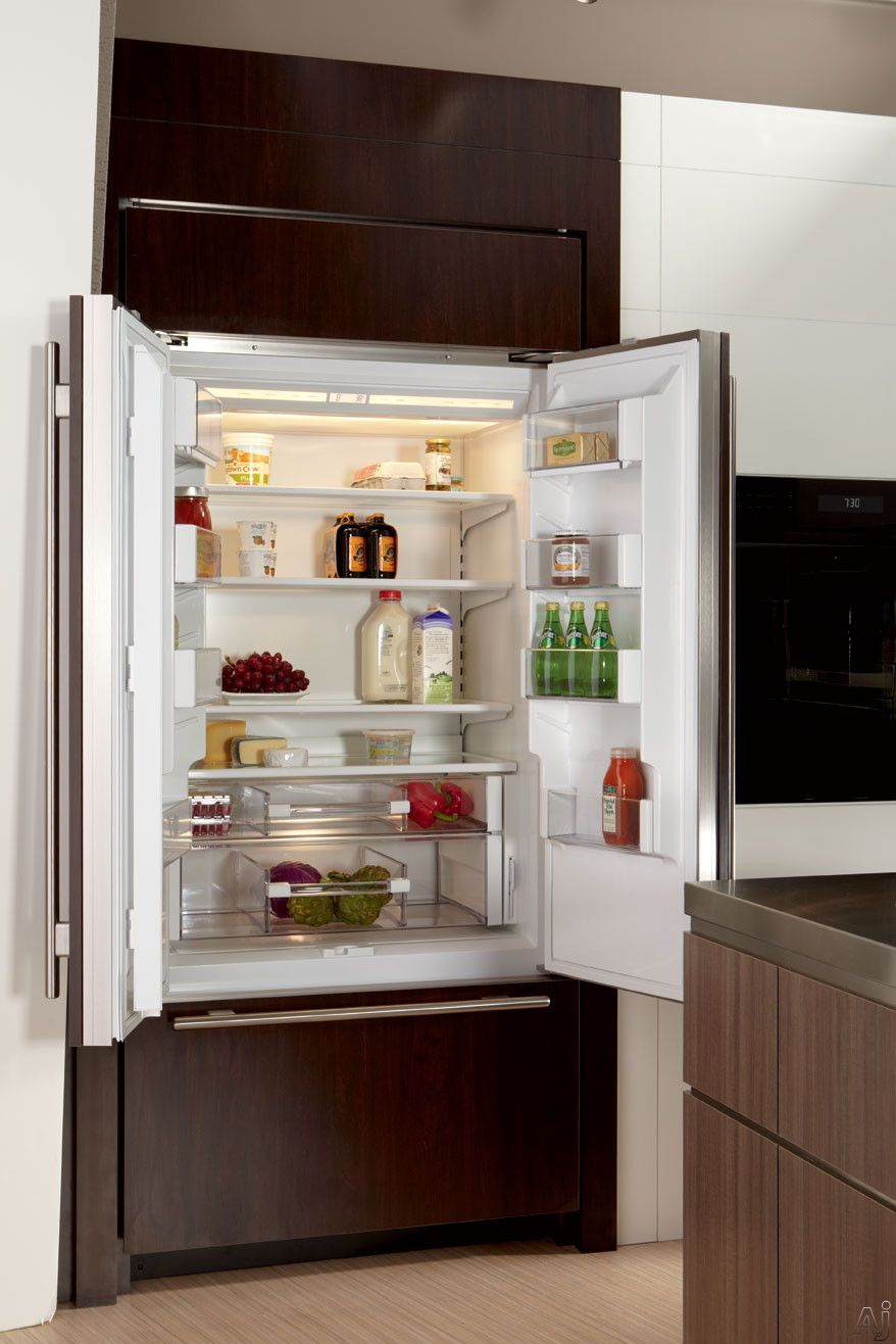 Sub Zero Bi36ufdo 36 Built In French Door Refrigerator With Spill Proof Glass Shelves High Humidty Drawer French Door Refrigerator French Doors Refrigerator
