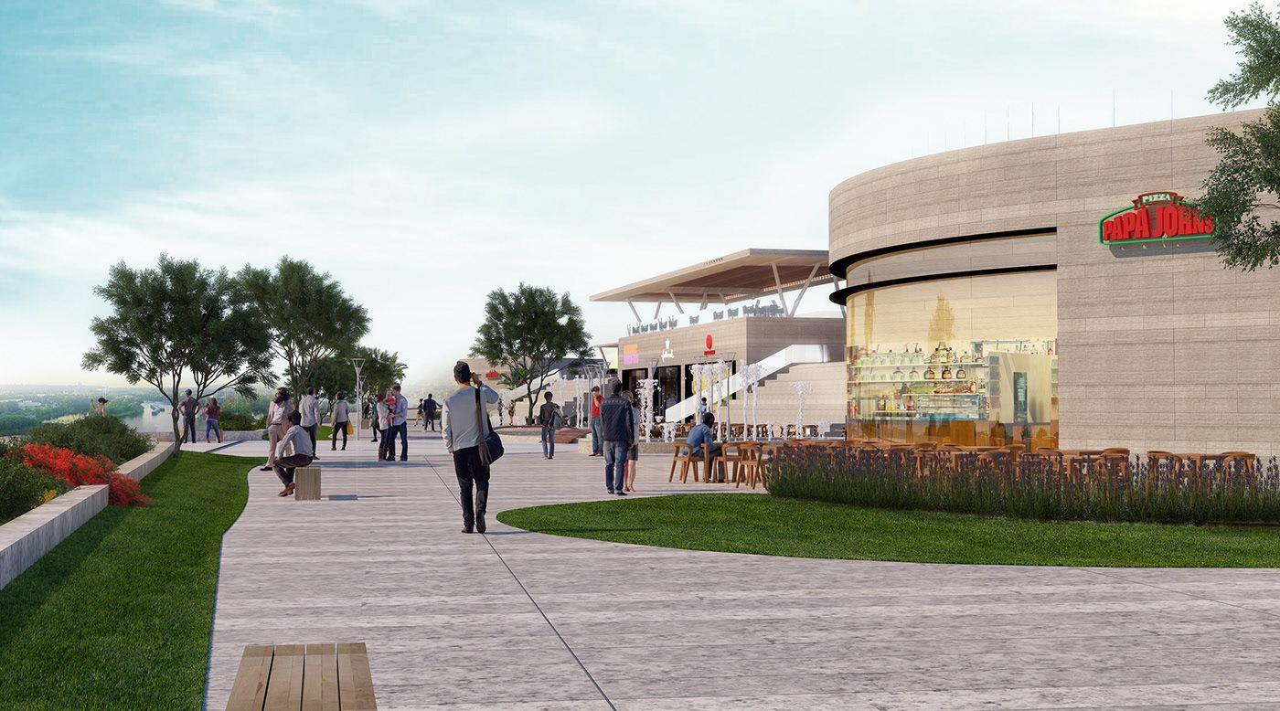 River walk on behance in 2020 river walk river house