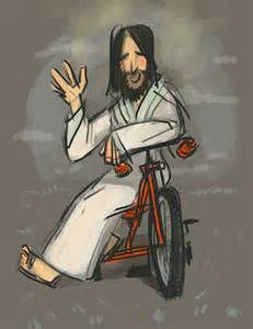 Me Jesus Christ Gf On A Bike Me Yes On A Bike Jesus Jesus