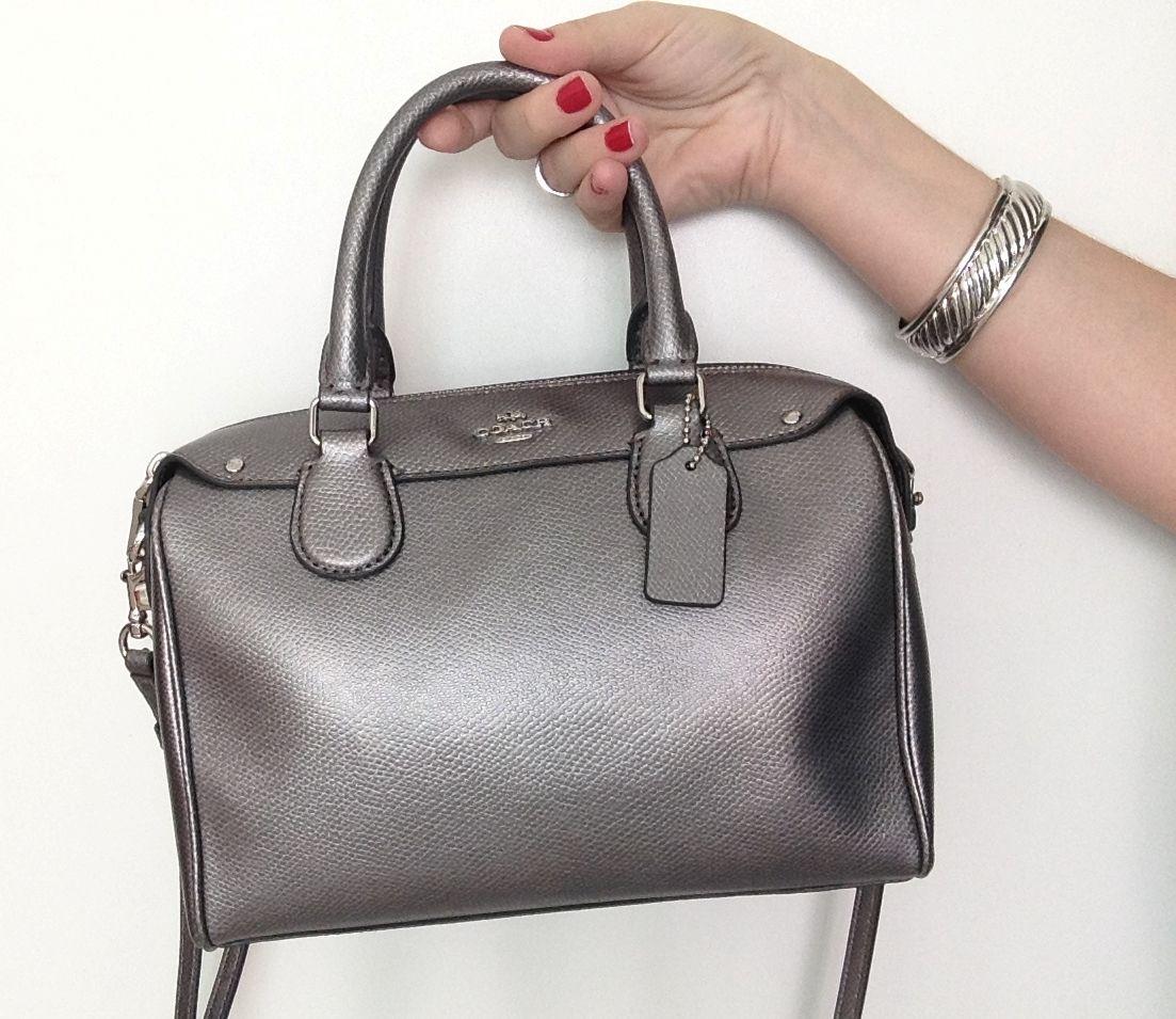 Bolsa metalizada = versatilidade + atualidade #dicafefuscaldo