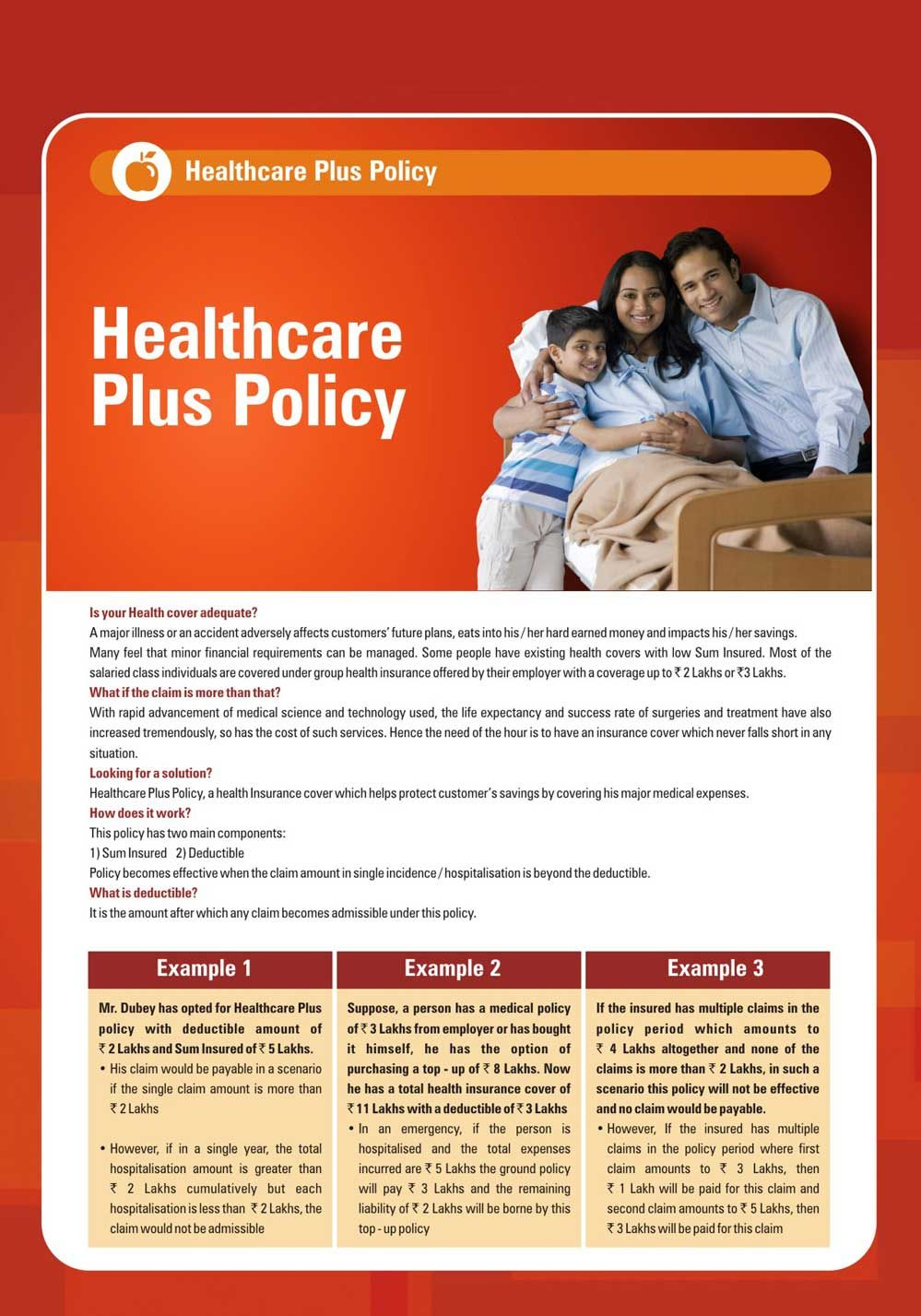Icici Lombard Healthcare Plus Policy A Health Insurance Cover