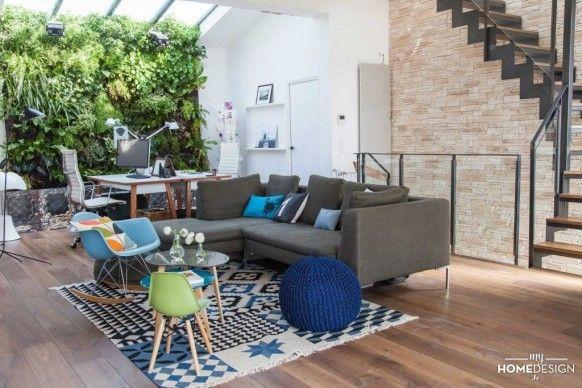 Surélévation de maison avec toit-terrasse Room - maison avec toit en verre