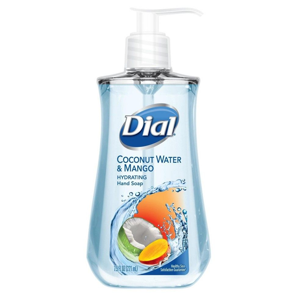 Dial Coconut Water Mango Hand Soap 7 5oz Paraben Free Products