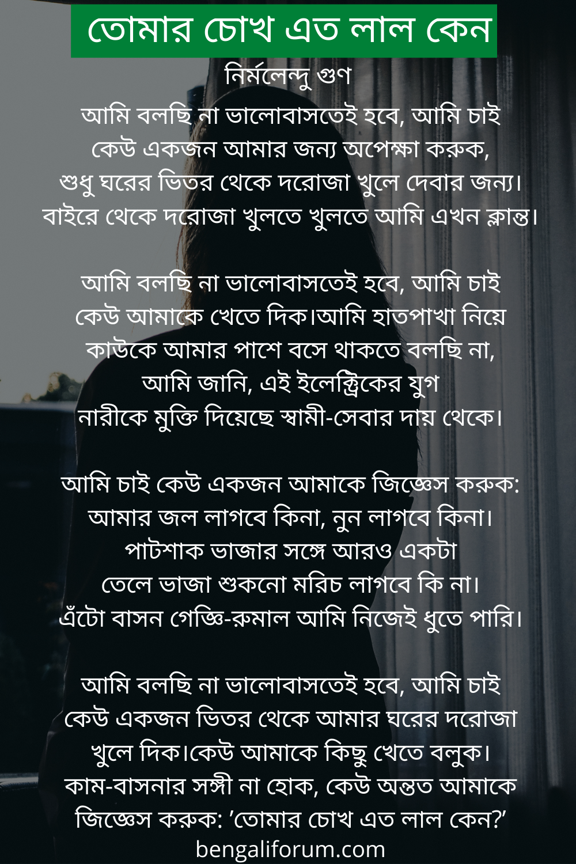 Ami bolchi na valobastei hobe kobita lyrics   আমি বলছি না ভালোবাসতেই হবে   Bengali love poem
