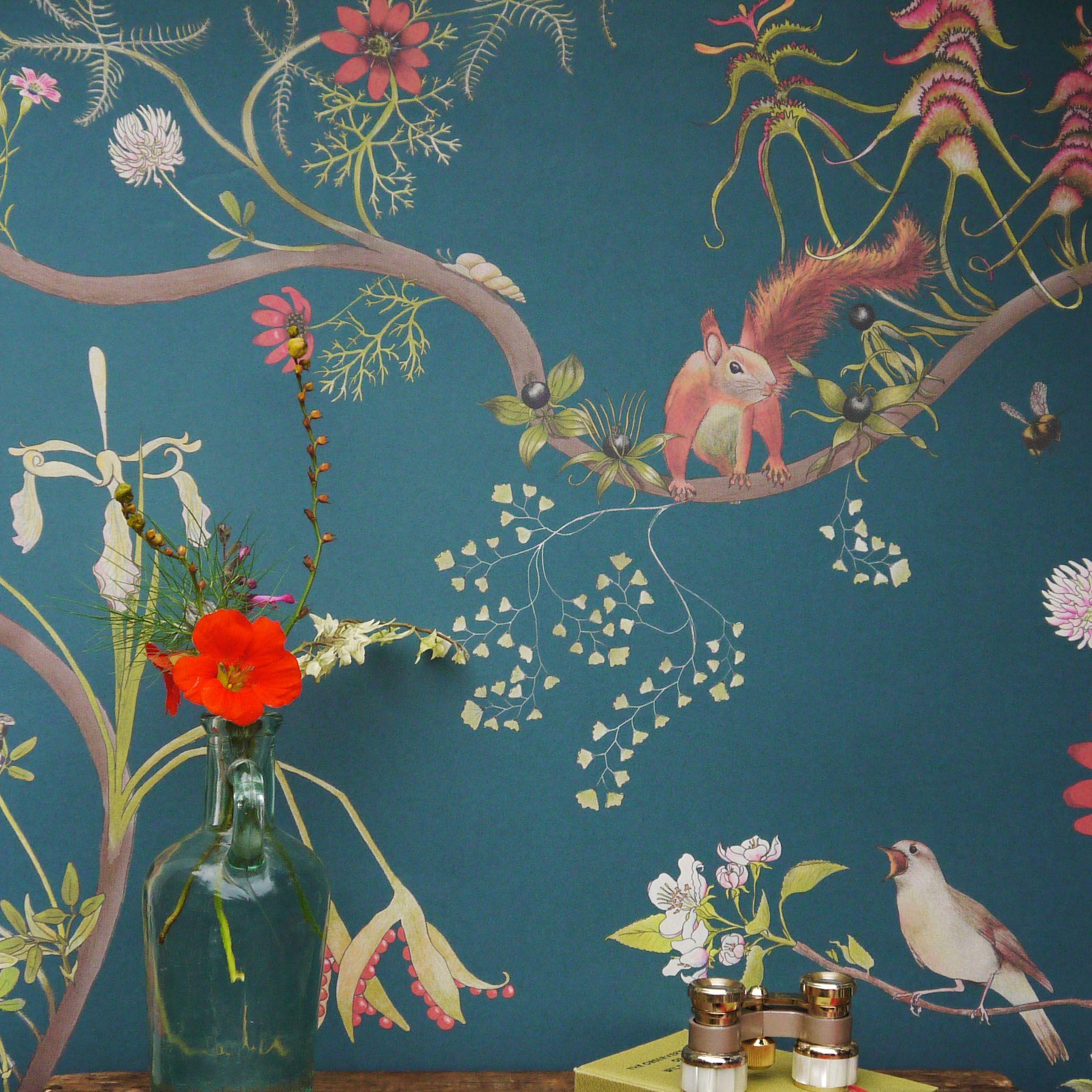 Wallpaper Planning Botanical Wallpaper Eclectic Wallpaper Scandinavian Wallpaper