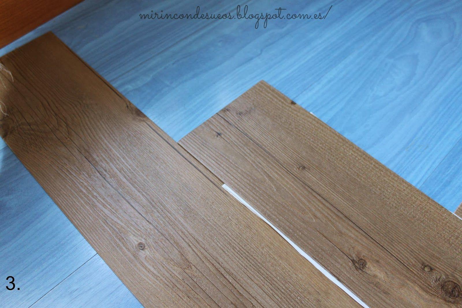 Blog de bricolaje y decoraci n f cil para tu hogar - Suelo laminado autoadhesivo ...