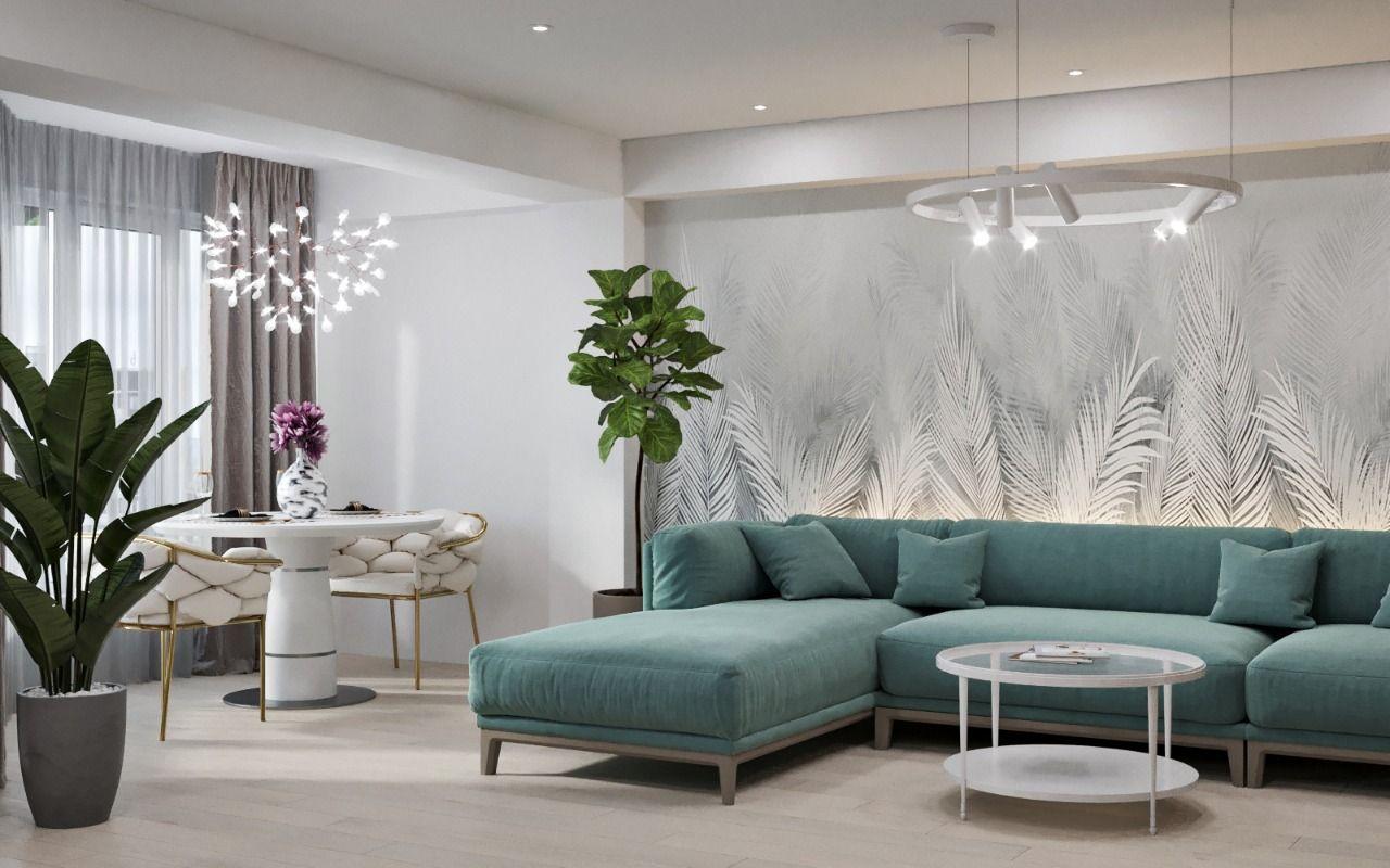 Photo of Дизайн гостиной в современном стиле