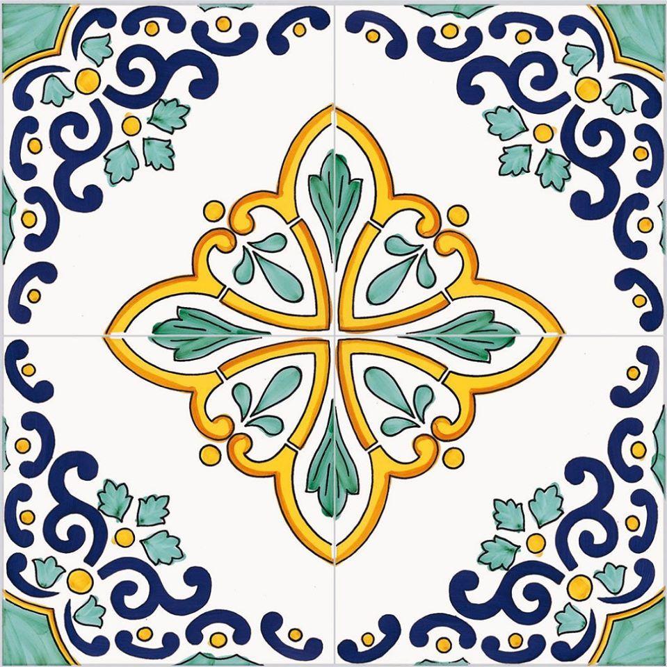 Decorivietresi cevi designs patterns in 2019 - Mattonelle in ceramica decorate ...