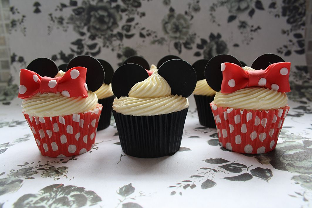 mickey mouse birthday cupcake ideas Bing Images Lets Party