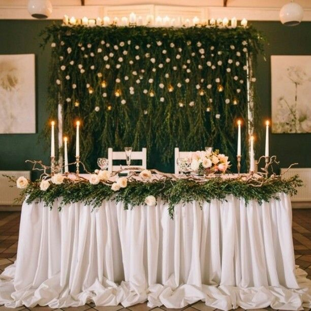 Simple Wedding Stage Decoration Ideas: Pin By Ksenia Voloboeva On Wedding Decor