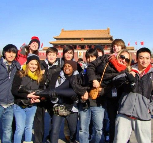 Great scene in an article on how teachers can travel free by leading student tours!