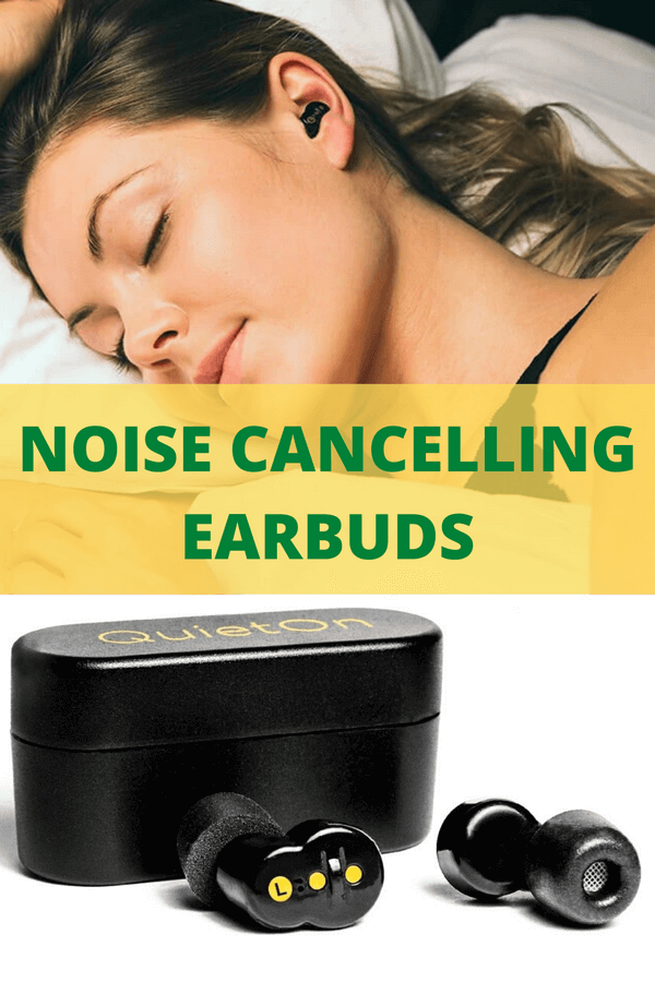 Best Noise Cancelling Earbuds For Sleep Review Noise Cancelling Earbuds Noise Cancelling Earbuds