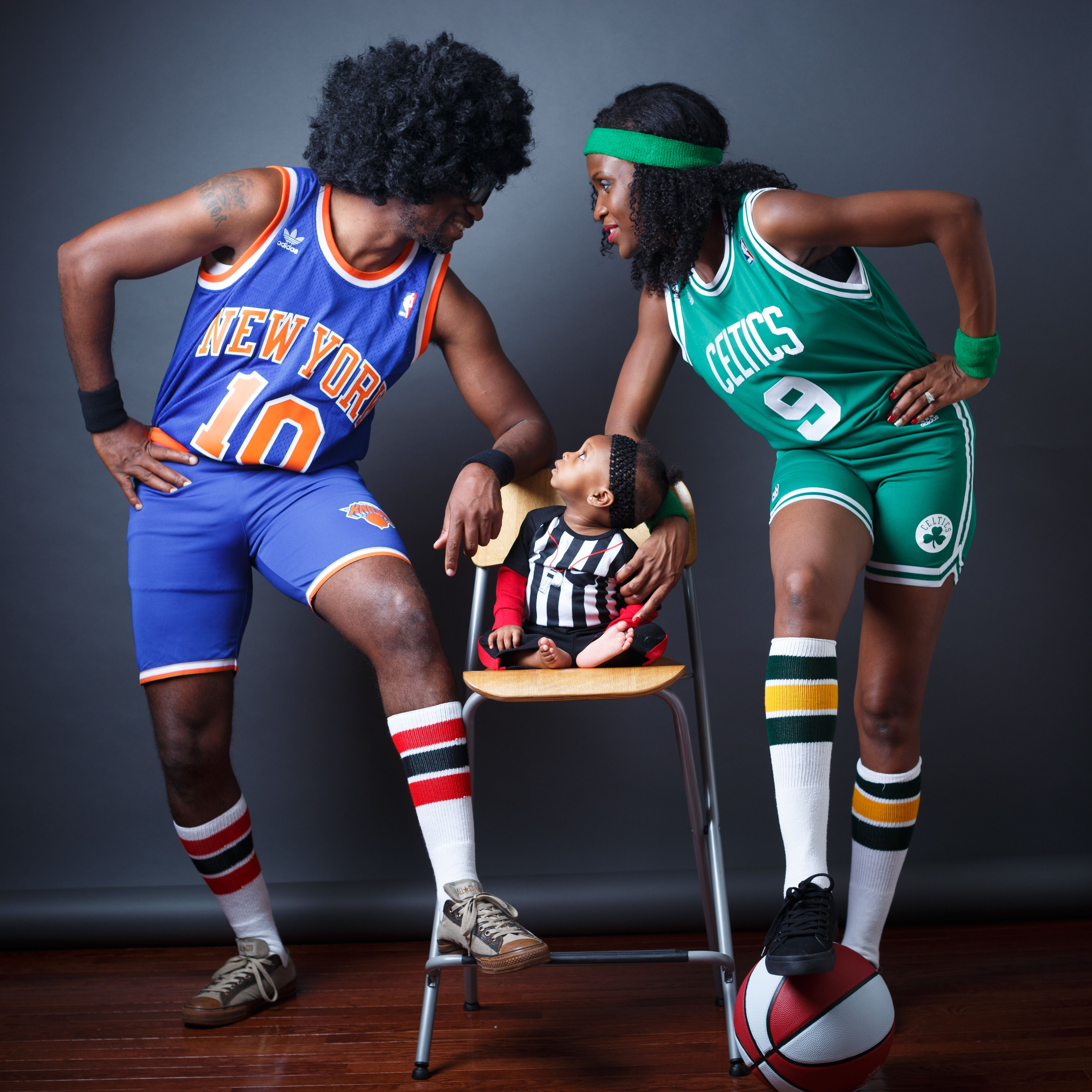 Basketball Themed Family Pictures Family Photoshoot Baby Referee Family Photoshoot Photoshoot Family Pictures