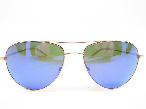 d05885d16c4 Oliver Peoples Benedict OV 1002S 5035 71 Gold with Violet Mirrored Mens  Metal Pilot Aviator Sunglasses - Add this one to your Wishlist!