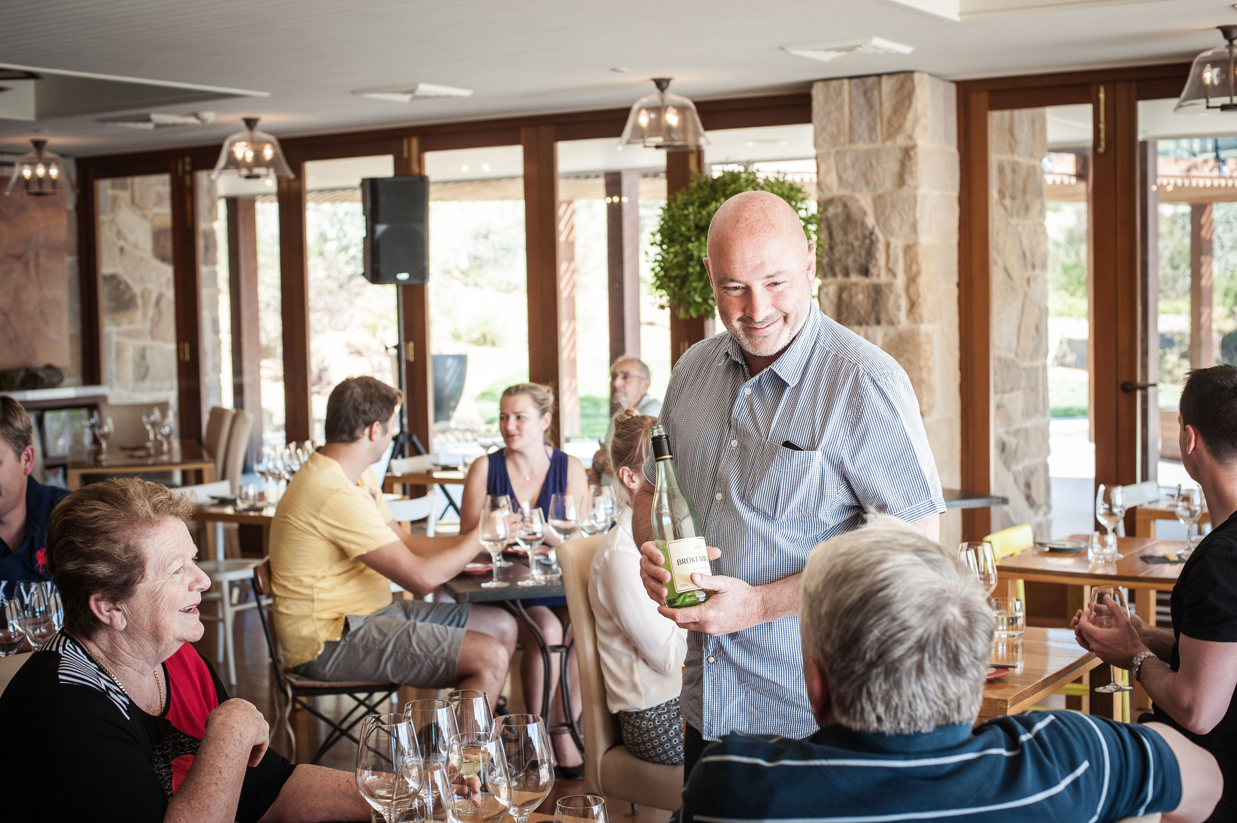 Wine tasting with Hunter Valley's iconic Brokenwood wines.