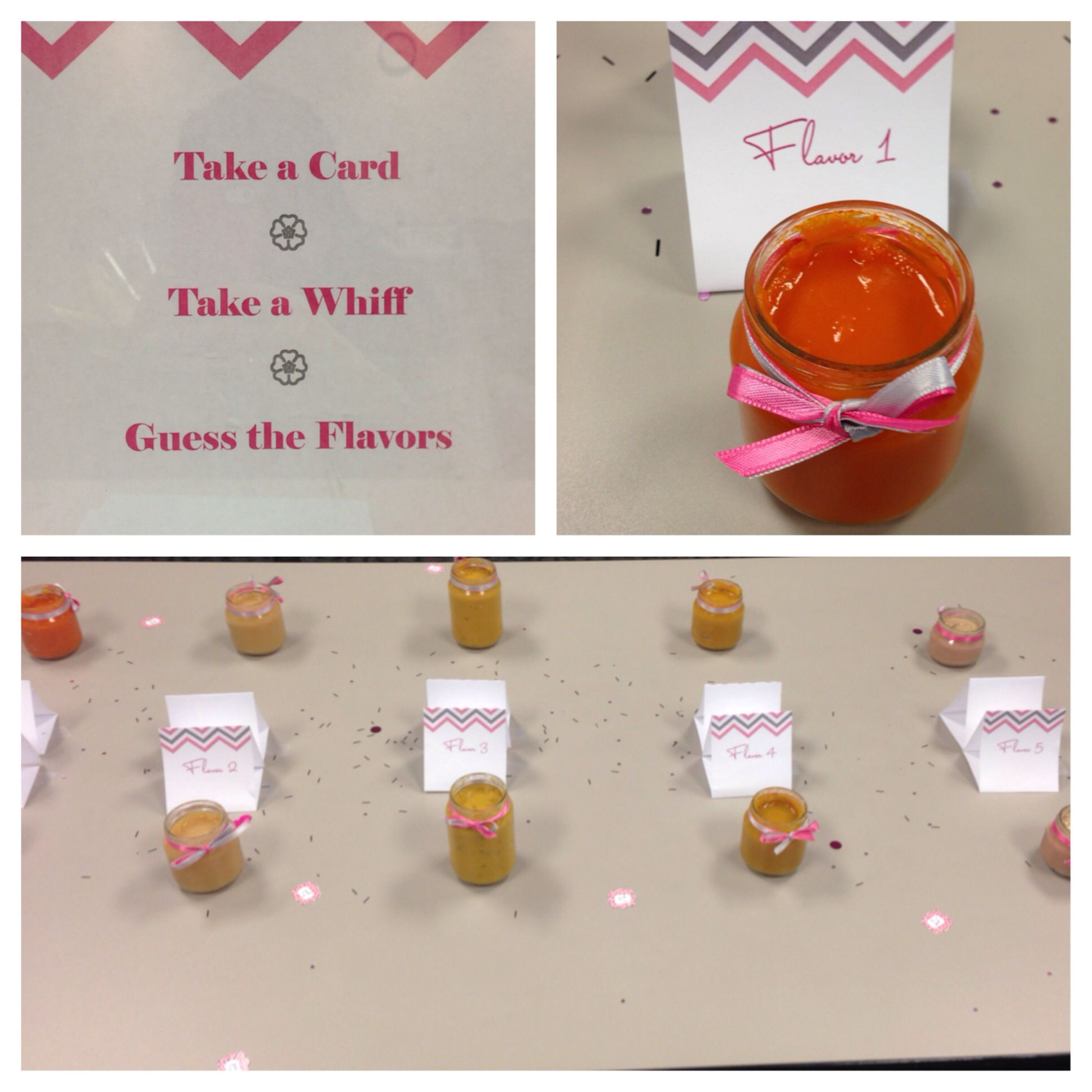 baby food game instructions