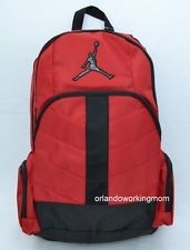 29d3978e94 Nike Air Jordan Black and Red Backpack for Student