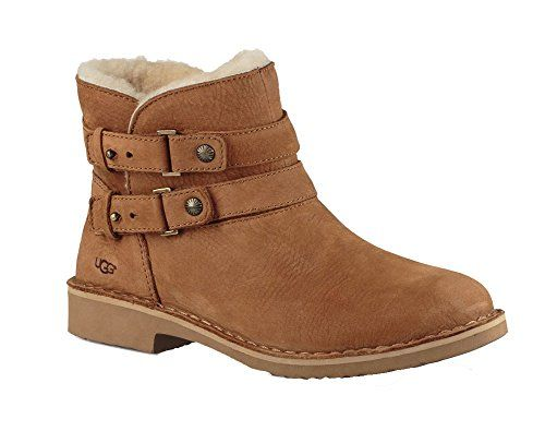 d39f9bbb51e UGG Womens Aliso Shearling Boot Chestnut Size 75 >>> Be sure to ...
