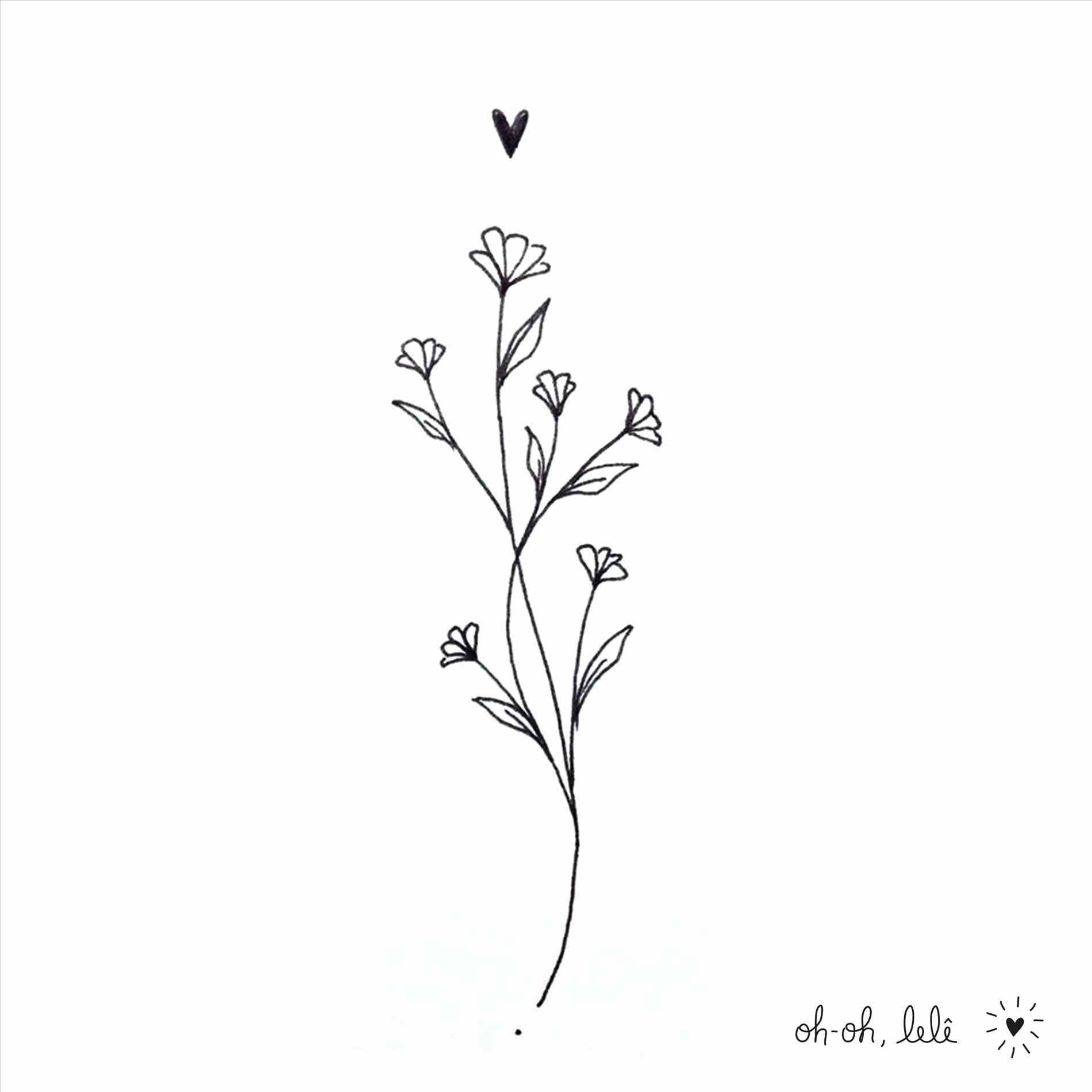 Perfect Simple Flower Outline Tattoo And Review Flower Outline Perfect Review Simple Tattoo In 2020 Dainty Tattoos Nature Tattoos Tattoos