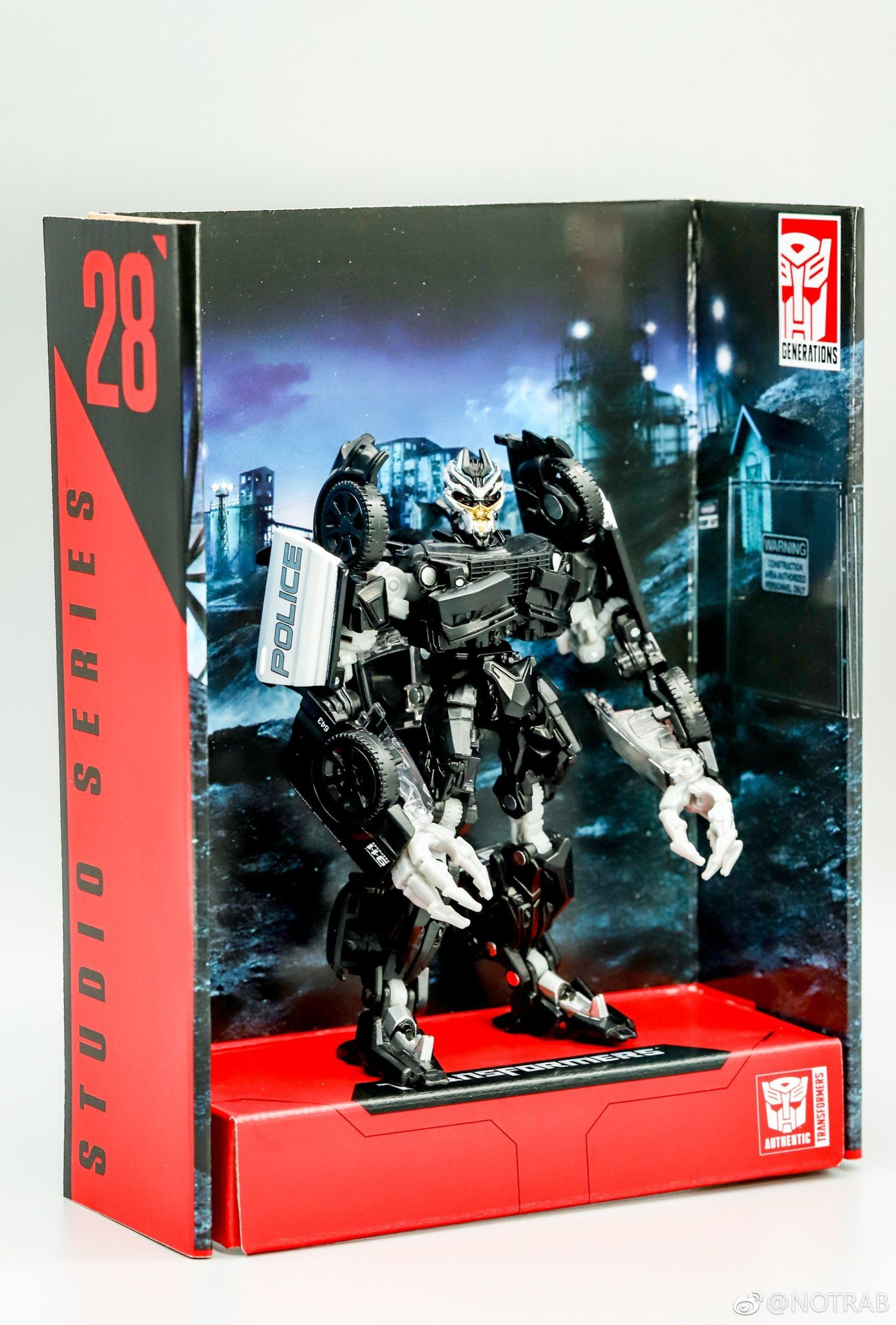 Transformers Studio Series Barricade New Images Transformers