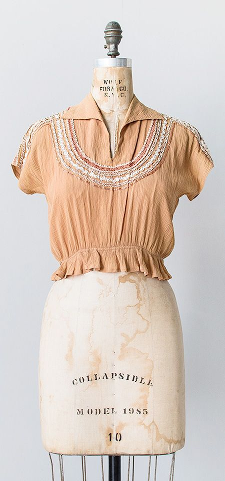 crafted sedona | vintage 1970s top