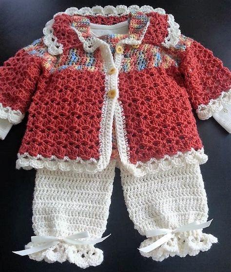 1dda51798e288 40 Eye Catching Crochet Baby Dresses & Sets | All Things Baby ...