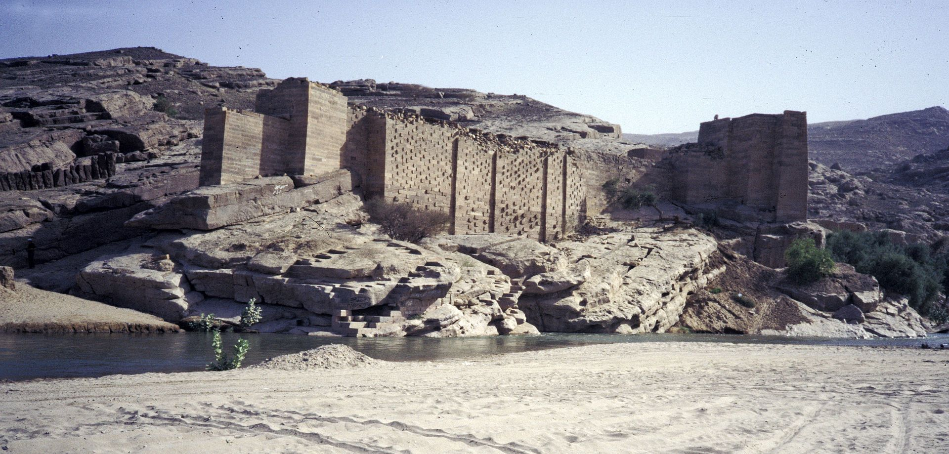 Ruins Of The Great Dam Of Marib