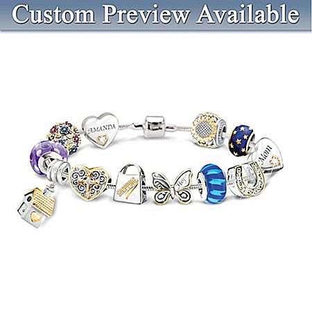 Create Your Own Charm Bracelet 11 Charms Get 1 Free Personalized
