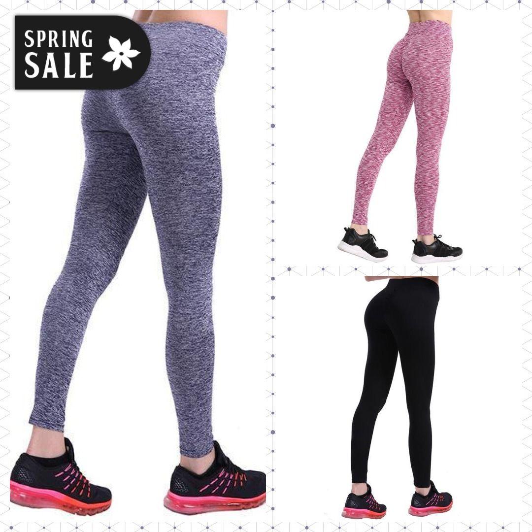 ec4207677204ed 3 Colors Casual Push Up Leggings Women Summer Workout Polyester Jeggings  Breathable Slim Leggings Women-