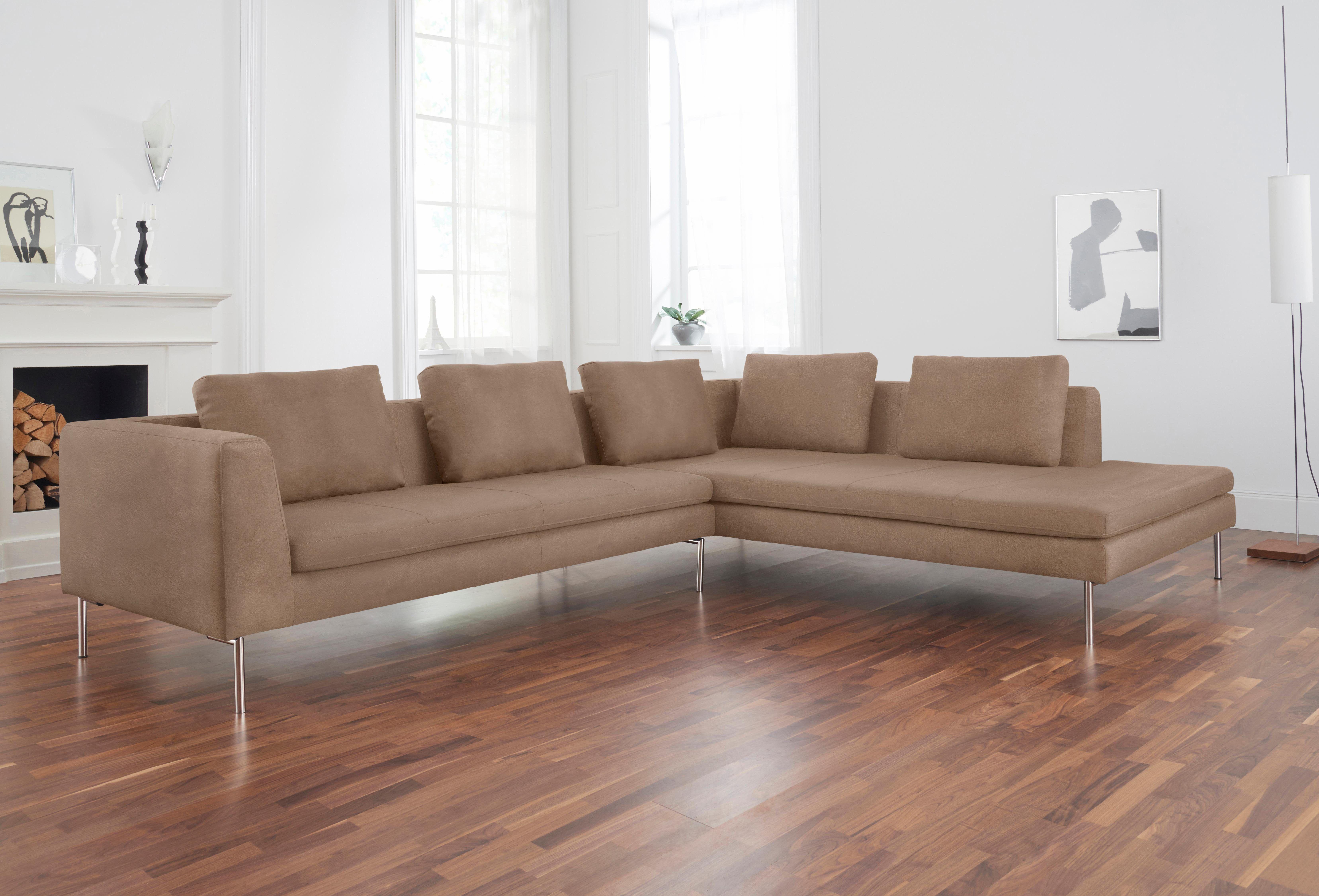 Wohnzimmer sofas ecksofa grau sitzecke silber diapers silver