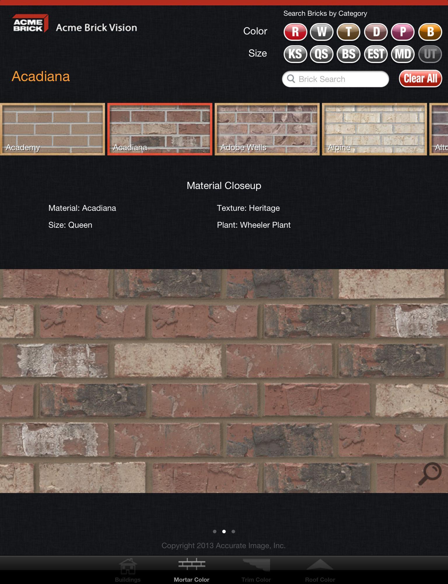 Brick colors acme brick company debuts new mobile app acme brick colors acme brick company debuts new mobile app acme brick vision for geenschuldenfo Choice Image