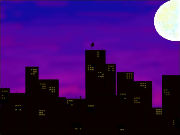 skyline silhouette art 5th amp 6th grade art projects
