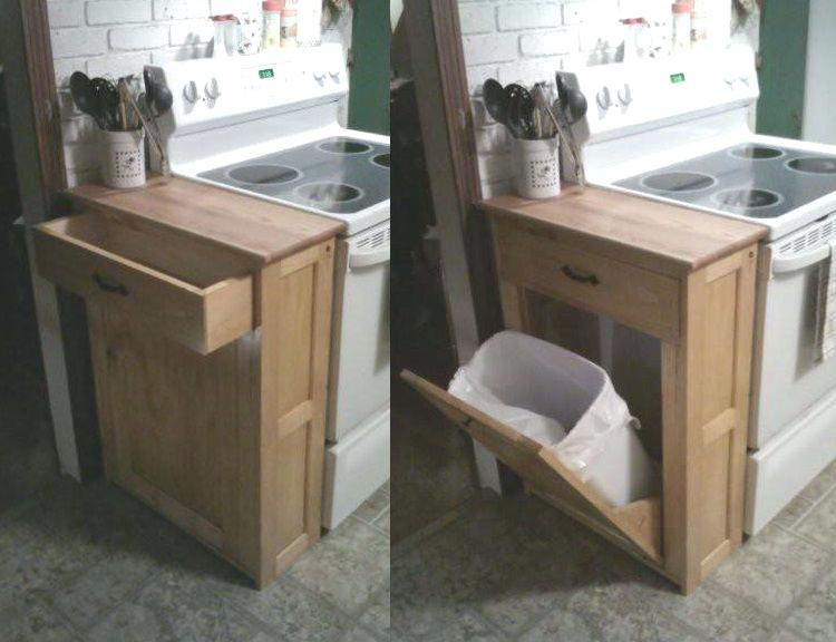 More click [...] Kitchen Pull Out Trash Can Pullout Kitchen ...