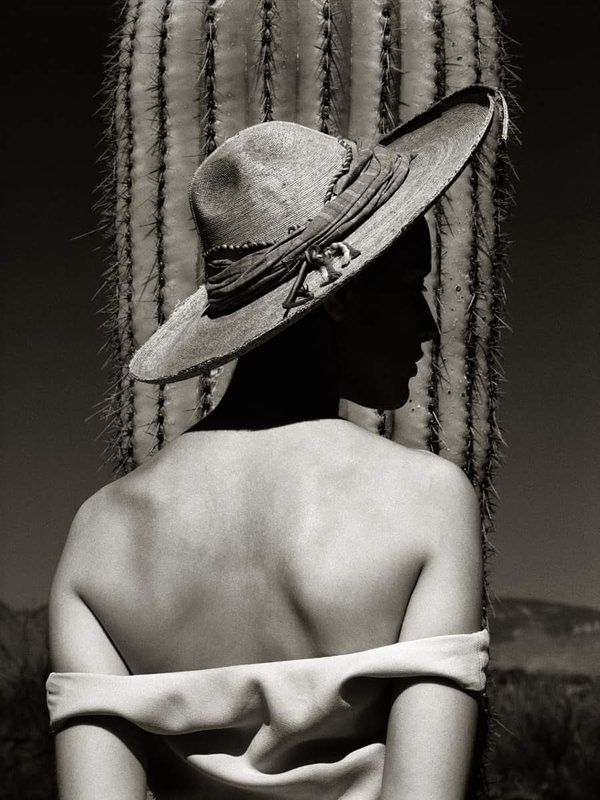 Charlotte Nuevo México 1986 By Albert Watson