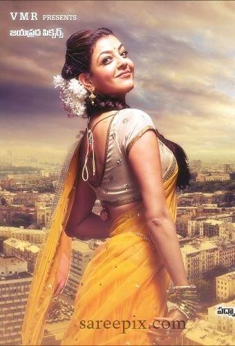 Kajal Agarwal Latest Half Saree Photos Dhanush S Maari Movie Half Saree Saree Beauty Girl
