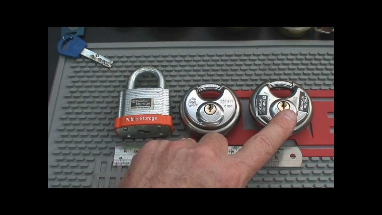how to pick a master lock with a paperclip
