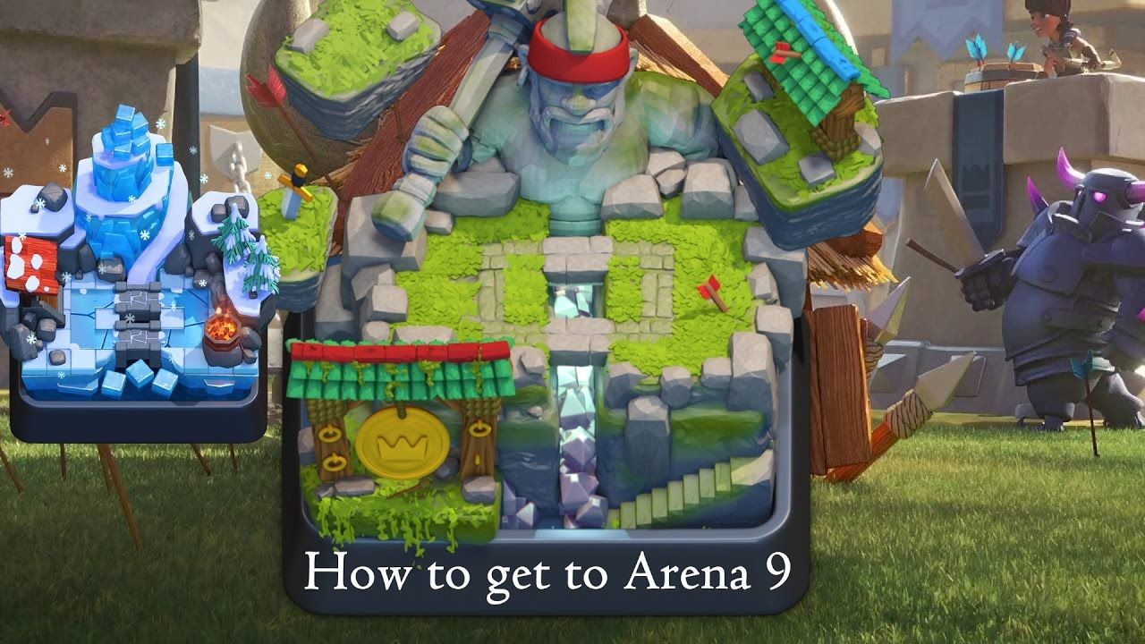 Clash Royale - How to get to Legendary Arena!   gaming