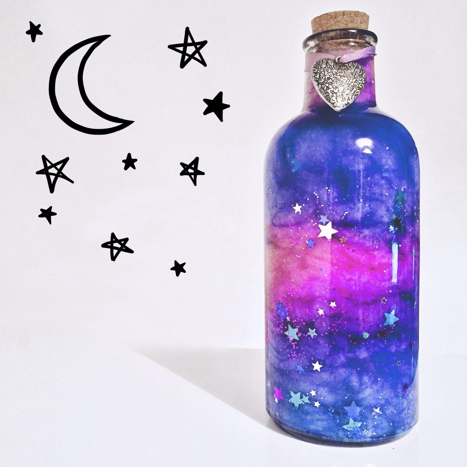 ✨ DIY Nebula in a Jar ✨ | Natskilou | galaxy things | Pinterest ...