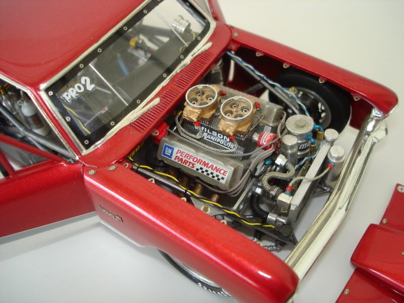66 Nova Super Sport Drag car if you will  Model Kits  Pinterest