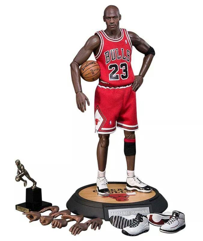 Michael Jordan collectable.