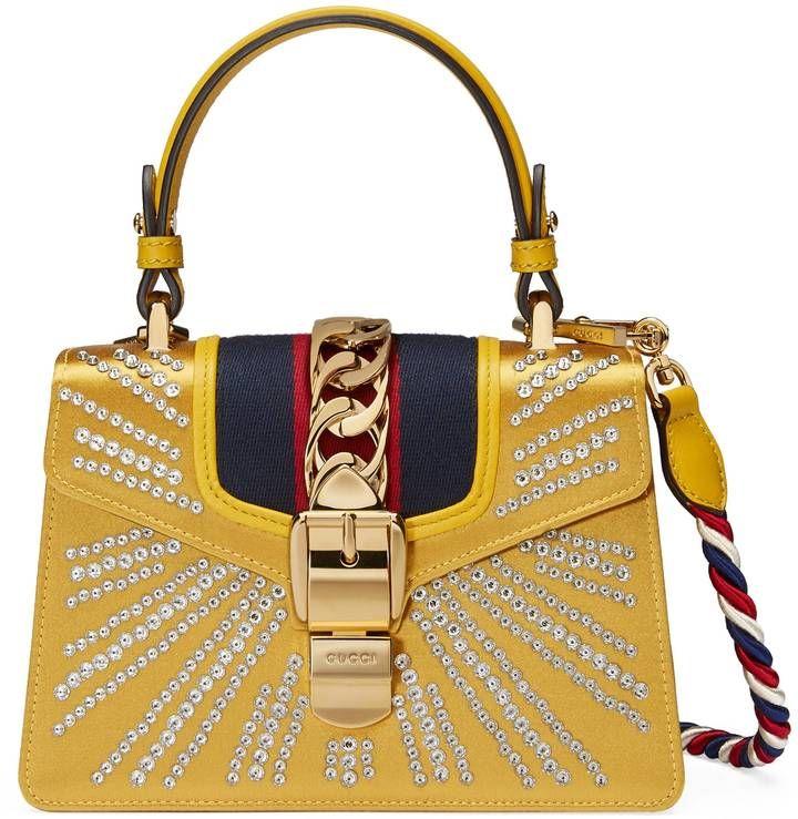 bc9b619727b Gucci Sylvie crystal mini bag