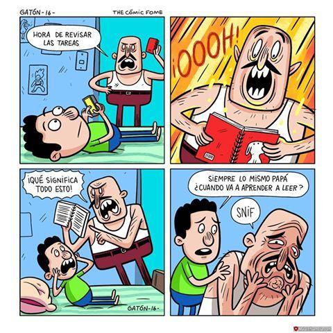 Siempre lo mismo papá... - Malainfluencia
