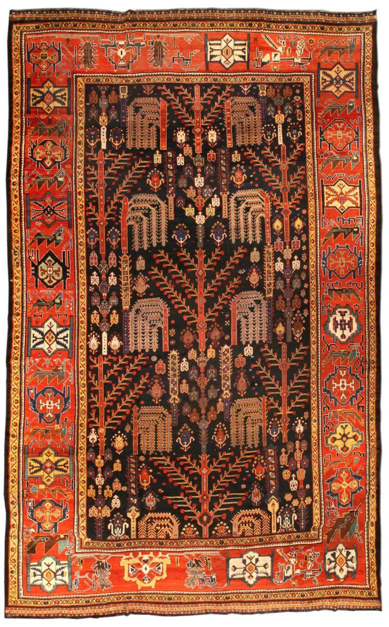Antique Persian Bakhtiari Rug Bakhtiari Rugs Rugs Antique Persian Carpet