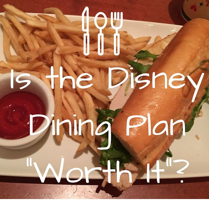 It's a question we hear a lot. Is the Disney dining plan worth it? Unfortunately this question does not have an easy answer! It depends. For most families the convince of paying for your meals ahea...