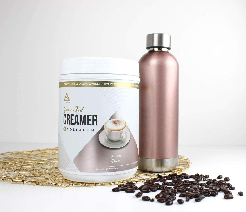 Grassfed keto creamer collagen protein c8 mct oil