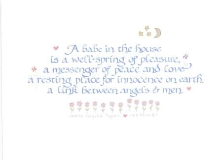 Good Baby Shower Thank You Poems | Contact Us For A Quotation