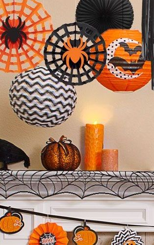 Hanging Halloween Decorations Halloween Pinterest Halloween - halloween decorations party