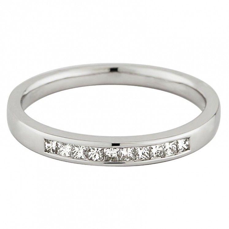 18ct white gold diamond 2mm wedding ring wedding rings