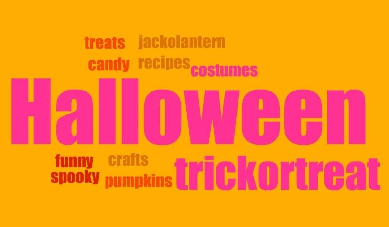 Meme Express Halloween bagful of blog prompts Halloween Hints and - halloween writing ideas