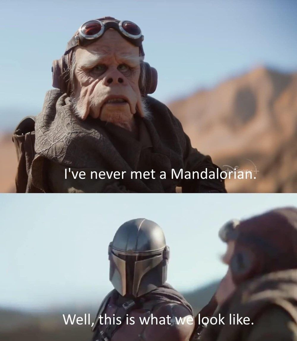 Fresh Star Wars Memes To Satisfy Your Mandalorian Cravings Star Wars Memes Star Wars Humor Star Wars Pictures